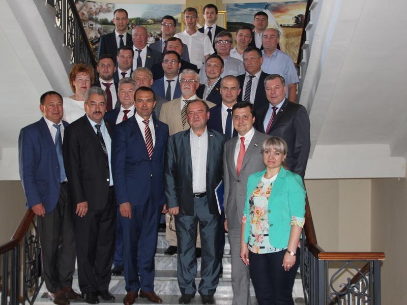 Заседание Межрегионального координационного совета партии «Единая Россия»