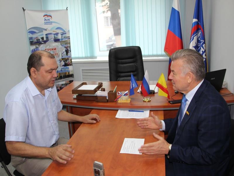 Валерий Филимонов провел прием граждан